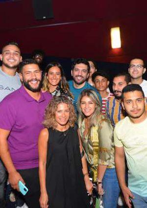 حسن الرداد والسبكي وأمينة خليل مع الجمهور بسينما ستي ستارز يتابعون توأم روحي