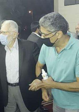 إيناس عبدالدايم وهاني شاكر وهاني البحيري وعدد من نجوم الفن في عزاء محمود ياسين