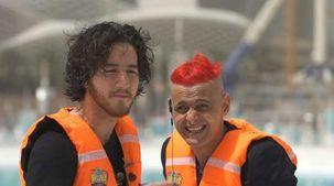 أحمد مالك ضحية برنامج رامز عقله طار يتصدر تريند «تويتر»: روتين شعره إيه؟
