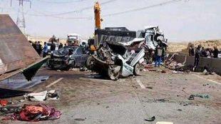 حادث الطريق الدائري الأوسطي