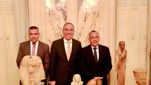 «وزيري»: القطع الأثرية المضبوطة بفرنسا ستعود إلى مصر قريبًا
