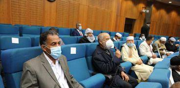 برعاية الرئيس السيسي.. زيارة وفد من قادة الجنوب الليبي لمصر