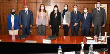 وزيرة التخطيط توقع مشروع تمويل التنمية المستدامة بمصر مع الأمم المتحدة