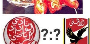 مطعم يقدم سندوتشات للتوقعات الصحيحة لمباراة الأهلي