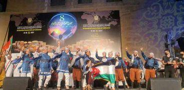 فلسطين تشارك في مهرجان الطبول والفنون التراثية