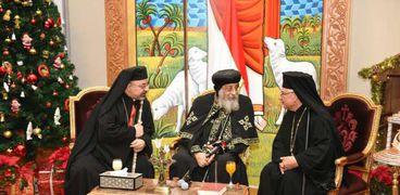 تواضروس يستقبل بطاركة الكاثوليك
