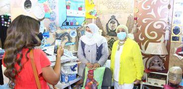 معرض «ديارنا» به منتجات فنية وتراثية بأيادٍ مصرية
