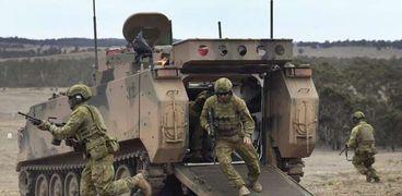 عناصر من الجيش الأسترالي
