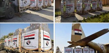 مساعدات مصرية للسودان