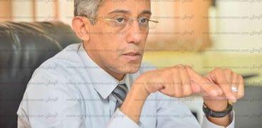 المهندس زياد عبدالتواب، رئيس مركز المعلومات ودعم اتخاذ القرار، رئيس اللجنة القومية لإدارة الأزمات والكوارث والحد من المخاطر بمجلس الوزراء