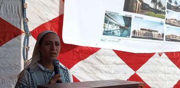 الدكتورة إيناس سمير نائب المحافظ