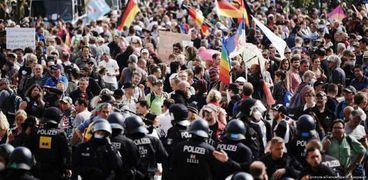مظاهرات ألمانيا