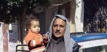 الحاج سعد ضحية الهبوط الأرضي في الإسكندرية