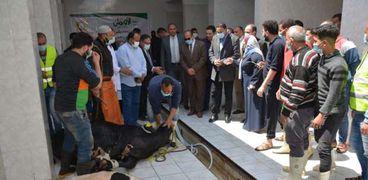 مبادرة توزيع اللحون في ادلقهلية