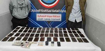 مواصلة الضربات الأمنية لمكافحة جرائم الإتجار بالمواد المخدرة