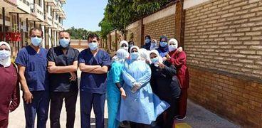 شفاء 16 حالة من المستشفى العام
