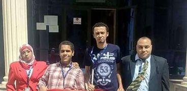 محمد ومصطفى أصحاب مشروع الدعاية الإعلان لذوي الاحتياجات الخاصة