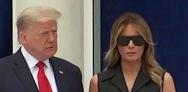 مواقف محرجة بين ترامب وزوجته ميلانيا