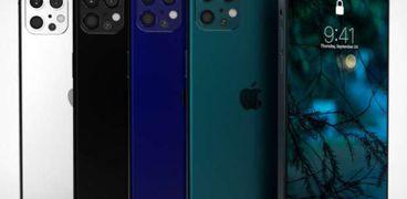 نماذج ثلاثية الأبعاد لهواتف أيفون 12 الجديدة المتوقعة