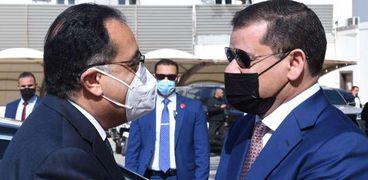 مدبولي خلال لقائه رئيس وزراء ليبيا