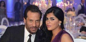 ماجد المصري وزوجته رانيا أبوالنصر