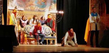 """""""يهودي مالطا"""" عرض مسرحي على مسرح قصر ثقافة الأنفوشي"""