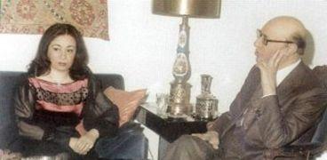 محمد عبدالوهاب ونهلة القدسي