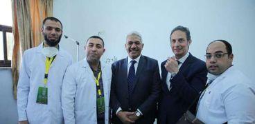 سفير مصر بتشاد يرحب بقافلة الأزهر