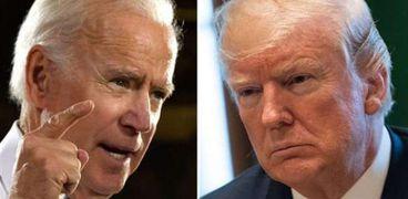 جو بايدن ودونالد ترامب