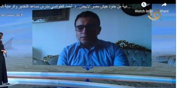 الدكتور أحمد الطوانسي، مدرس مساعد التخدير والرعاية المركزية