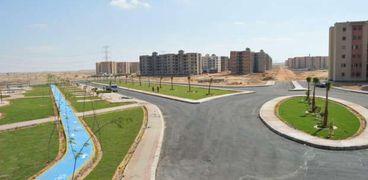 الإنتهاء من تنفيذ أعمال الفرمة والتجهيز لأعمال المرافق بطريقR1 بمدينة بدر