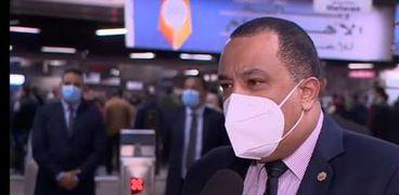 أحمد عبدالهادي المتحدث باسم شركة مترو الأنفاق