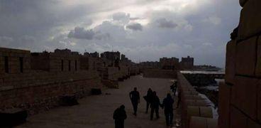 قلعة قايتباي في الإسكندرية اليوم