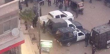 قاتل سائق «التوك توك» يمثل جريمته