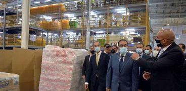 مدبولي يفتتح المركز اللوجيستي لشركة «أمازون» العالمية في مصر وإفريقيا