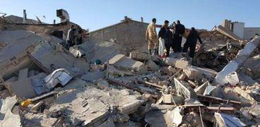 صورة أرشيفية لزلزال سابق في إيران