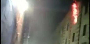حريق الجامع الأزهر