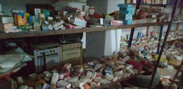 كمية أدوية تم ضبطها - أرشيفية