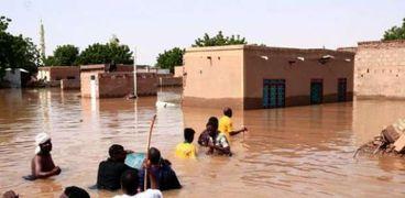 الفيضانات تغمر العاصمة نيامي
