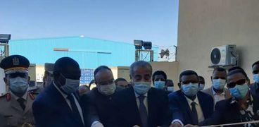 وزير التموين ووزراء سودانيون يفتتحون مجمع وادي النيل لصناعة الخبز