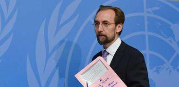 مفوض الأمم المتحدة السامي لحقوق الإنسان-زيد بن رعد الحسين-صورة أرشيفية
