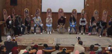 مسرحية فستان أحمر إحدى فعاليات فريق بصمة