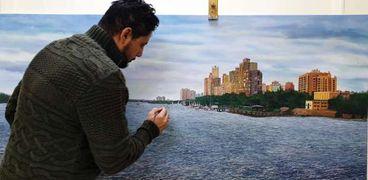 الفنان اليمنى ردفان المحمدى