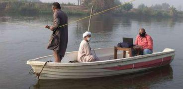 جهود ري القناطر لمتابعة منوب نهر النيل