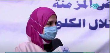 الدكتورة ناهد الهادي مدير منطقة المطرية الطبية