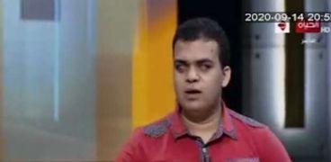 أحمد عادل طالب في الفرقة الثالثة أداب قسم إعلام جامعة حلوان