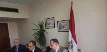 المشاورات المصرية السلوفاكية