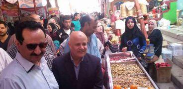 وكيل وزارة الزراعة بالغربية يتفقد أسواق تحيا مصر احتفالات بتخفيض الأسعار