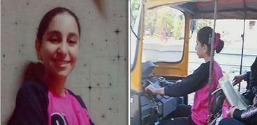 """أول تعليق من والدة الطفلة سائقة الـ""""توك توك"""" في الشرقية: بنخاف عليها"""