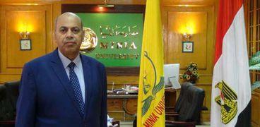 الدكتور مصطفى عبدالنبي.. رئيس جامعة المنيا